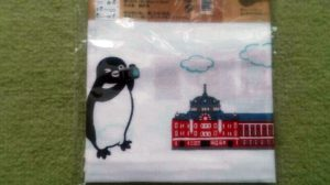 Suicaのペンギン手ぬぐい_2